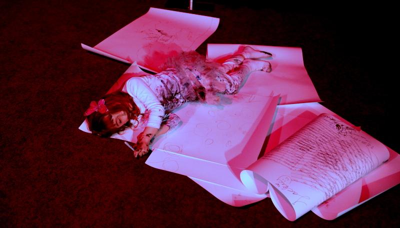 Aelita Andre Falls Asleep