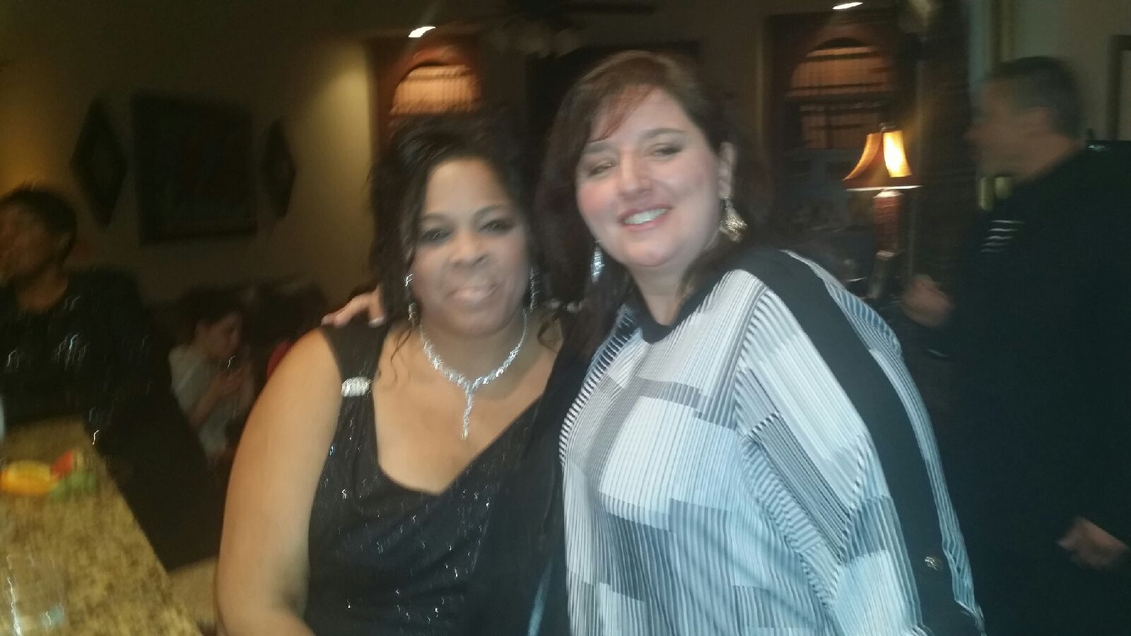 Dana Lamb and Sheila Raye Charles