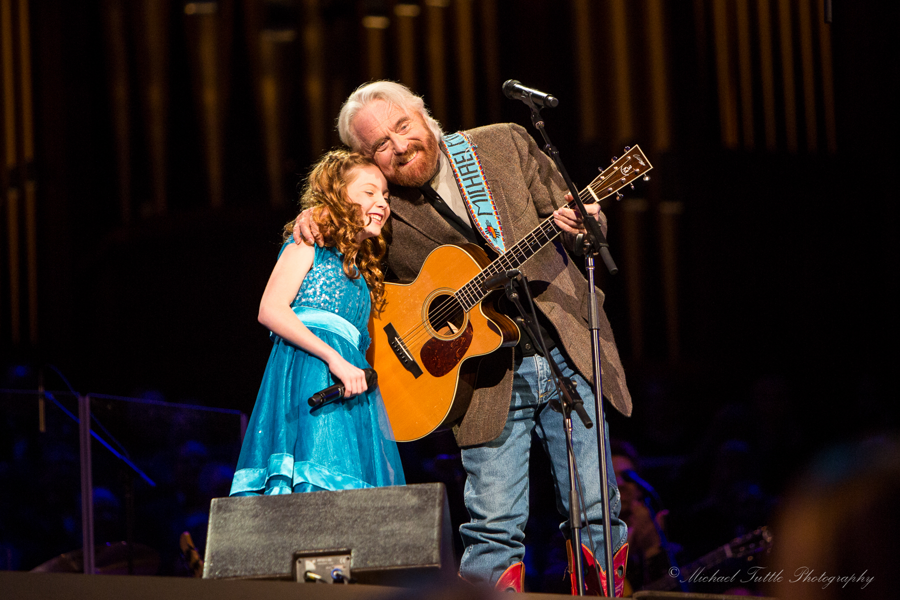 Lexi Walker-Michael Martin Murphy at We Are Hope Concert
