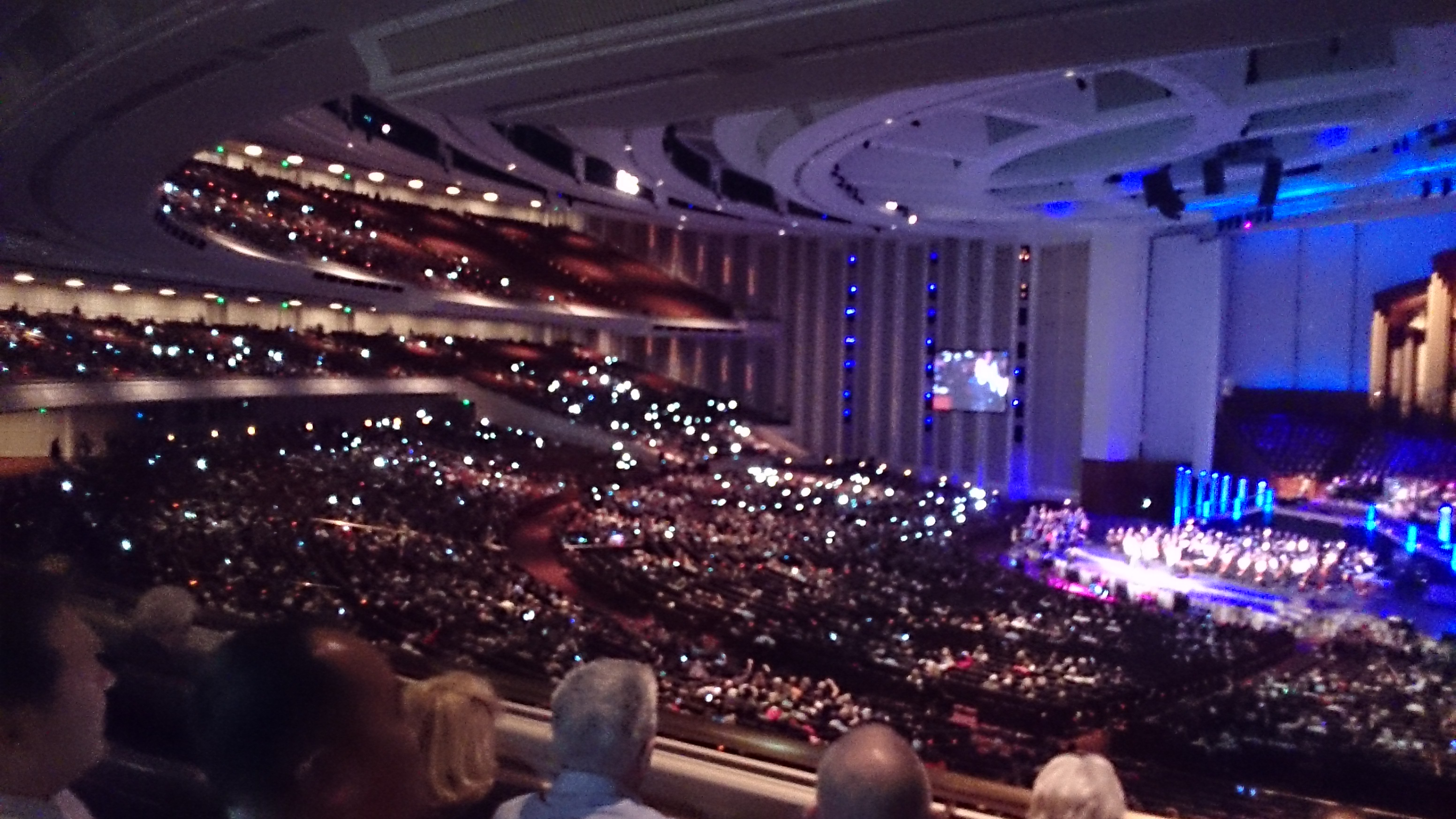Champaign How Bout' Us Performance in LDS Conf Cntr