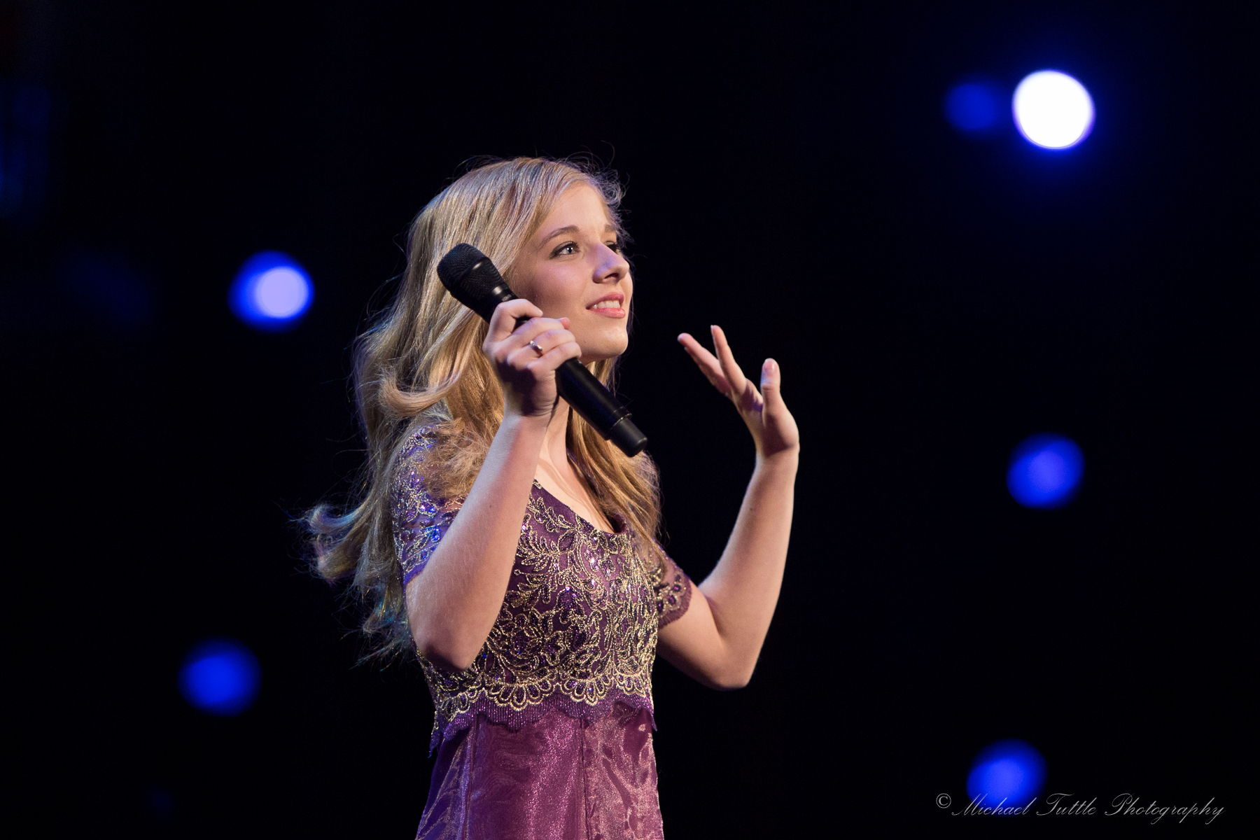 Jackie Evancho at Muzart Foundation Concert